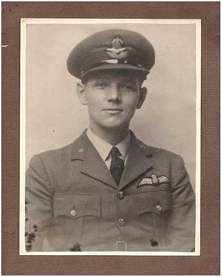 After the plane crashed, Maurice Williamson became a Prisoner of War. Picture: Submitted by Gert Tal