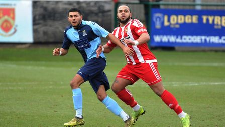 Substitute Stevan Shaw was sent off without even going on as St Neots Town lost at Didcot Town. Pict