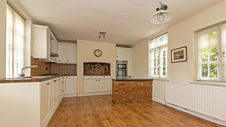 The property has a modern kitchen/breakfast room. Picture: Cassidy & Tate