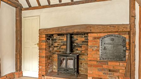 Character features include cast iron log burning stoves. Picture: Cassidy & Tate