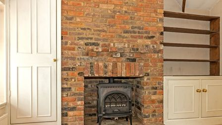 Exposed brickwork is another character feature. Picture: Cassidy & Tate