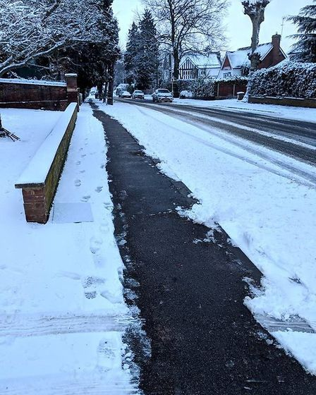Harpenden Town Council (HTC) is reinstating the Snow Angels scheme for the 2019 to 2020 winter. This
