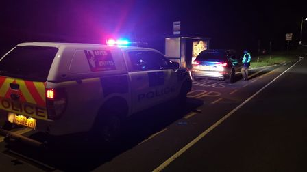 Herts police, including officers from St Albans and Hertsmere, took part in a joint operation which