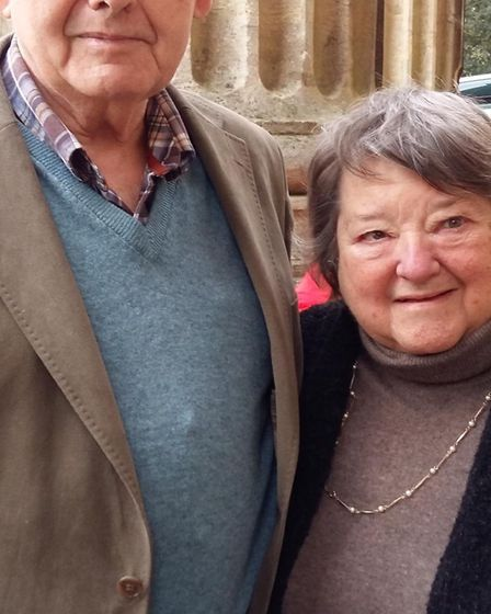 Douglas and Rosemary Gatward are celebrating their 60th wedding anniversary. Picture: Courtesy of Ja