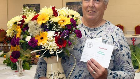 The Autumn Flower and Vegetable Show in Little Paxton. Picture: ARCHANT