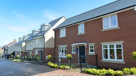 The new four-bed Langdale show home at Taylor Wimpey's Oaklands Grange development in St Albans. Pic