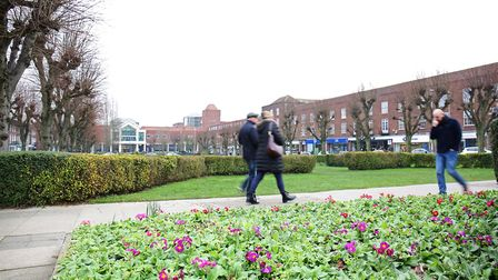 Howardsgate has an attractive green space at its heart. Picture: Danny Loo