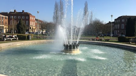 The Coronation Fountain, Parkway. Picture: Andrew Brookes