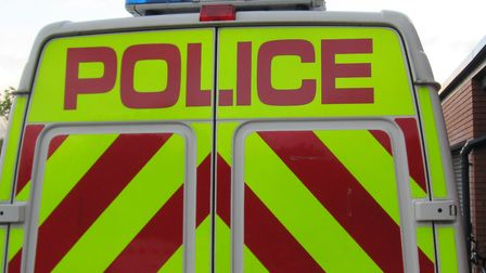 Herts police arrested a man in St Albans city centre today.