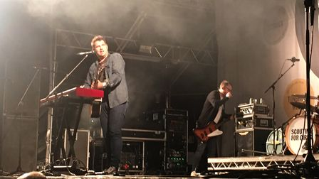 Scouting for Girls at Pub in the Park, St Albans.