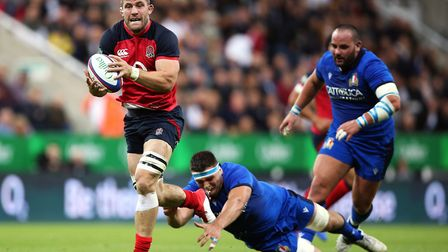 Italy provided a perfect test for England ahead of the Rugby World Cup according to Mark Wilson. Pic