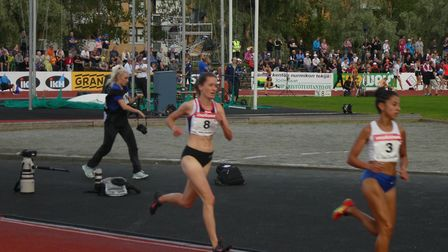 Lizzie Bird from St Albans is competing in the 3,000-metre steeplechase in the World Athletics Champ