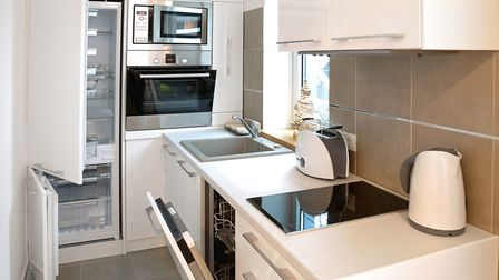 If your home is relatively spacious, and it's just your kitchen feeling the squeeze, you can always