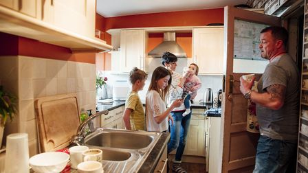 Cramped kitchens can present challenges - so it pays to plan the space as carefully as possible. Pic