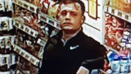 Police would like to speak to this man in connection with an incident in Buckden