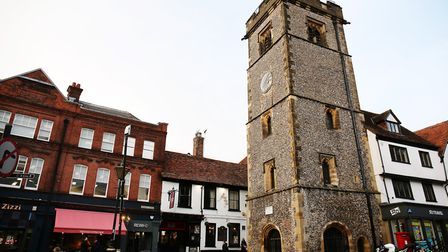 The Clock Tower, St Albans. Picture: DANNY LOO