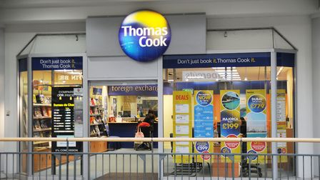 Thomas Cook in Welwyn Garden City is closing after the company ceased trading. Picture: Kevin Lines
