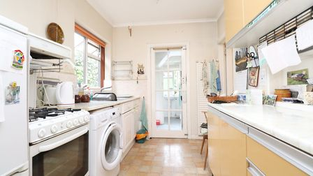 The kitchen is connected to a downstairs shower room and WC by a small lobby area. Picture: Paul Bar