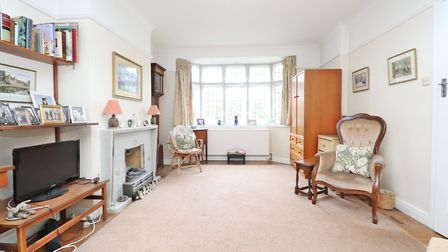 There is a secondary glazed leaded bay window to the front of the property. Paul Barker Estate Agent