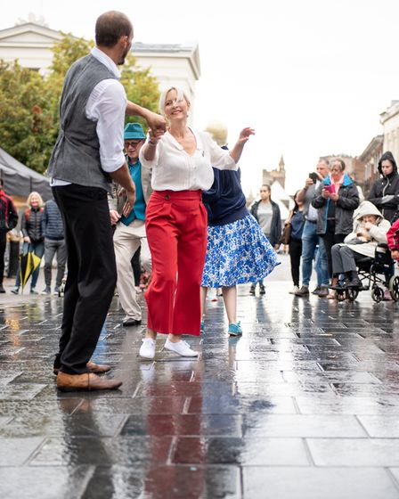 The second annual St Albans Time Turn Festival, held as part of the Heritage Open Days. Picture: Ste