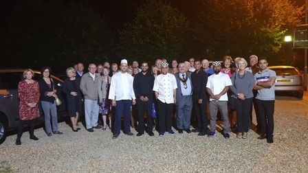 Yuva held a charity dinner in aid of St John the Baptist Church in Royston, which was devastated by