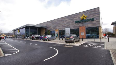 The Morrisons store at St Ives
