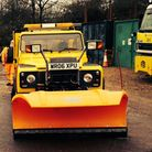 Gritters will only be sent out in Hertfordshire this winter at temperatures of 0.5C or below. Pictur