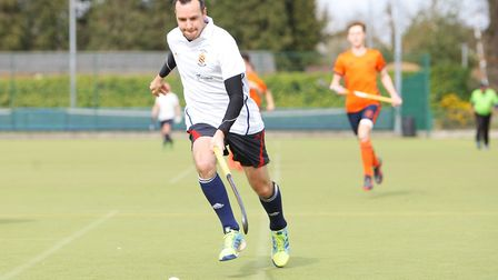 Mark Hoefield scored twice as Harpenden beat Wapping on day one of the new season. Picture: KARYN HA