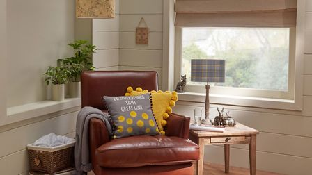 'With great love' cushion and other items from a selection at Morrisons. See PA Feature INTERIORS Un
