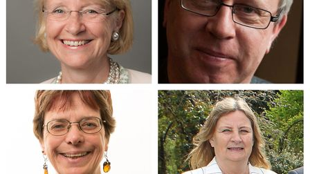 Top left to right: Harpenden South West councillor Teresa Heritage ( Picture: David Hartnup/HCC) and