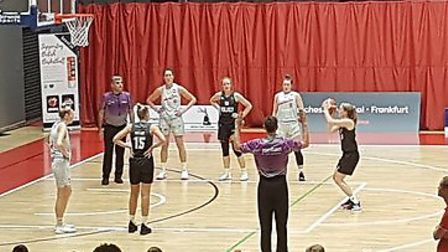Oaklands Wolves opened their season with a WBBL Trophy clash with Leicester Riders at Essex Sport Ar