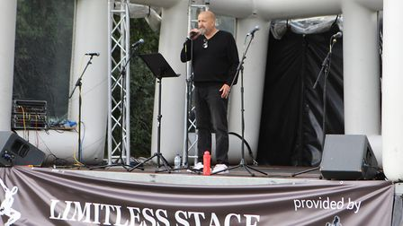 Royston Arts Festival - Limitless entertain the crowds.Picture: Karyn Haddon