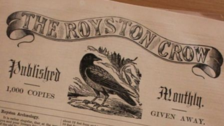 The Royston Crow from Royston's district museum. Picture: Royston & District Museum