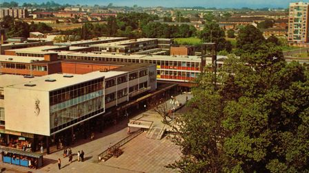 An archive image of Stevenage new town. Picture: Archant