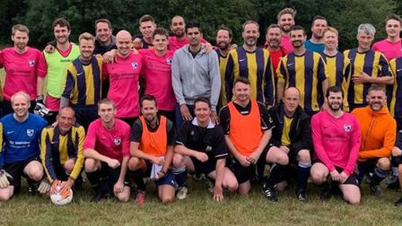 Past and present players got together for a veterans match to celebrate Oaks' 25th anniversary.