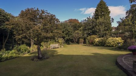 There is a 100ft garden to the rear of the property. Picture: Whittaker & Co