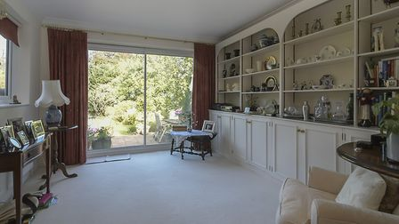 Patio doors lead out to the rear garden. Picture: Whittaker & Co