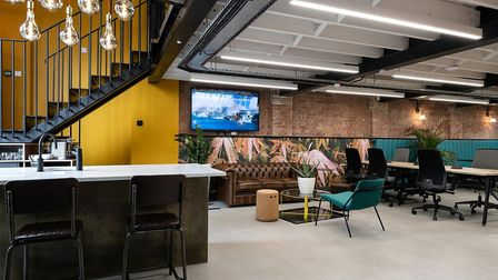 The ground floor space at BubbleHUB. Picture: Mark Sims