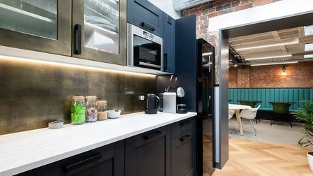 The well-stocked kitchen is also on trend. Picture: Mark Sims