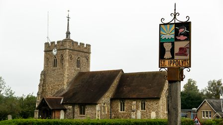 St Ippolyts is a charming Hertforshire village. Picture: DANNY LOO