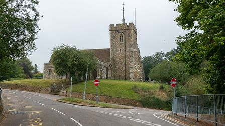 St Ippolyts Church, Ashbrook Lane. Picture: DANNY LOO