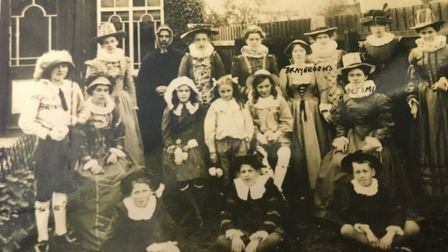 This photograph was taken in Huntingdon in 1912