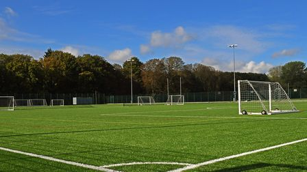 HBK Leisure's new pitch can accommodate for a full size pitch, two 9v9 football pitches and four min