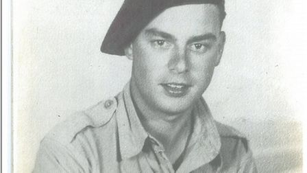 Douglas Shaw, from Upwood, survived the Battle of Arnhem. Picture: CONTRIBUTED