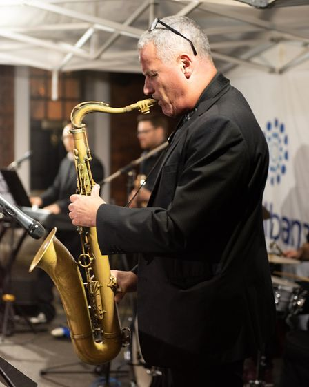 St Albans Gin & Jazz - picture by Stephanie Belton.