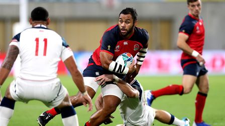 England's Billy Vunipola during the 2019 Rugby World Cup match at the Kobe Misaki Stadium, Japan. Pi
