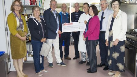 The Hospice of St Francis has been awarded 2,000 from the St Albans Lions Club. Picture: Submitted b