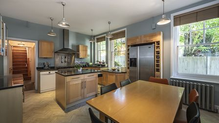 A utililty room adjoins the kitchen/breakfast room. Picture: Frost's