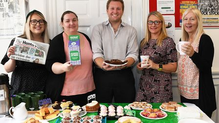 Staff at the Hunts Post held a coffee morning