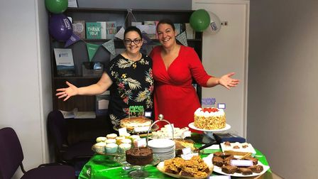 A coffee morning was held at Lovetts Sales and Lettings in St Neots